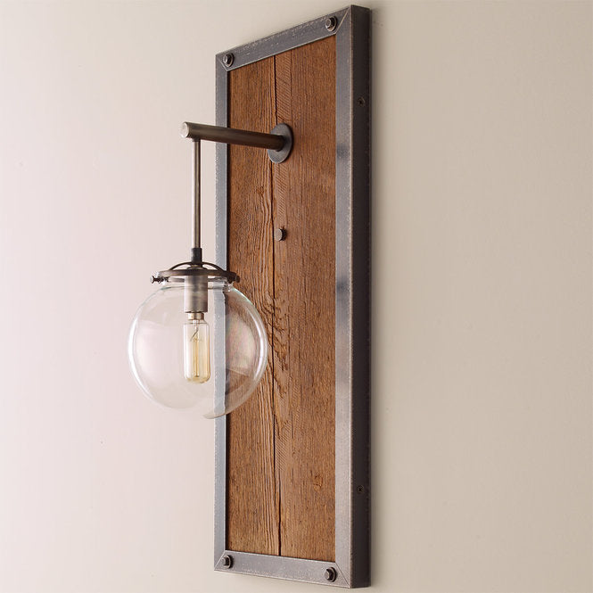 RECTANGULAR INDUSTRIAL SCONCE - SMALL