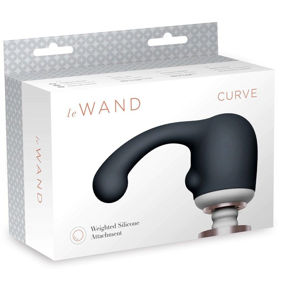 Le Wand Curve Weighted Silicone Wand Attachment