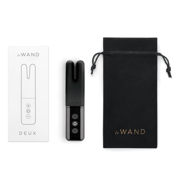 Le Wand Chrome Collection Deux Elegant Rechargeable Clitoral Vibrator
