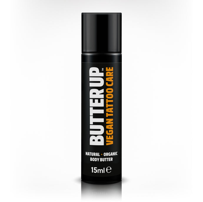 Butter Up Tattoo Care 15ml Pocket Size Airless Pump
