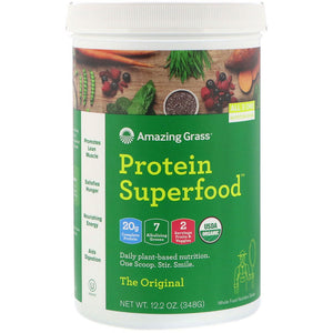 Amazing Grass, Protein Superfood, The Original, (348 g)