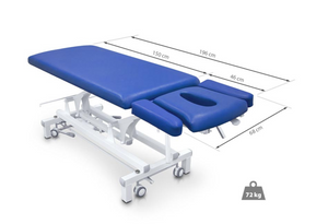 Hydraulic Massage Table with Adjustable Armrests