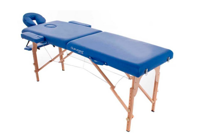 Portable Wood Folding Massage Table - Transport Bag Included - Basic Range (194cm x 70cm)