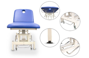 Hydraulic Treatment Table with Adjustable Backrest