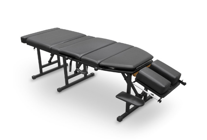 Folding Chiropractic & Reiki Treatment Table (163 X 54 CM) Black