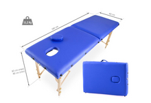 Load image into Gallery viewer, Portable Wood Massage Table - Basic Range (180cm x 60cm)