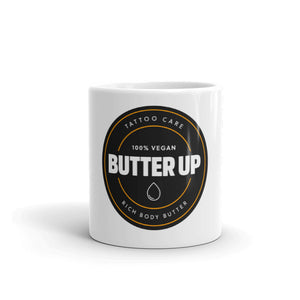 Butter Up Round Logo Mug