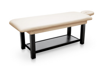 Load image into Gallery viewer, Fixed Wood Frame Massage Table for Spa's