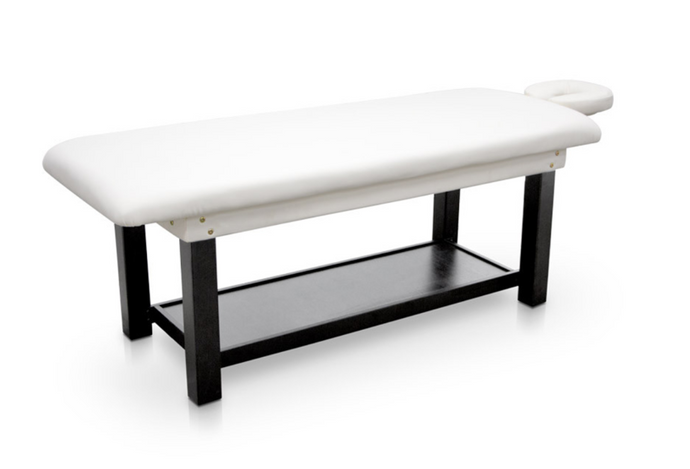 Fixed Wood Frame Massage Table for Spa's