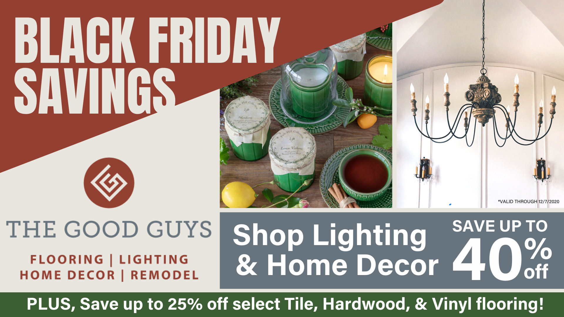 Black Friday Savings at The Good Guys' Design Center
