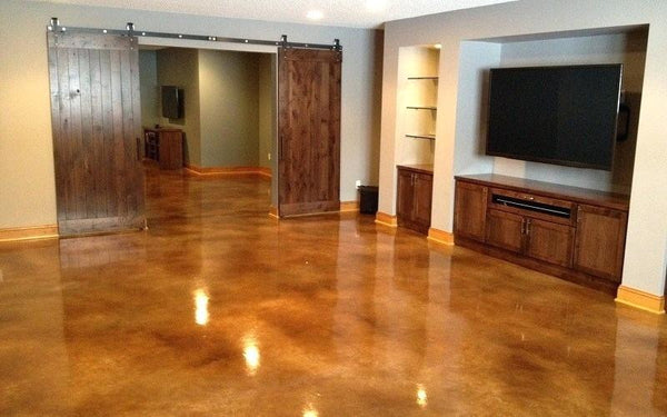 Stained Concrete Flooring