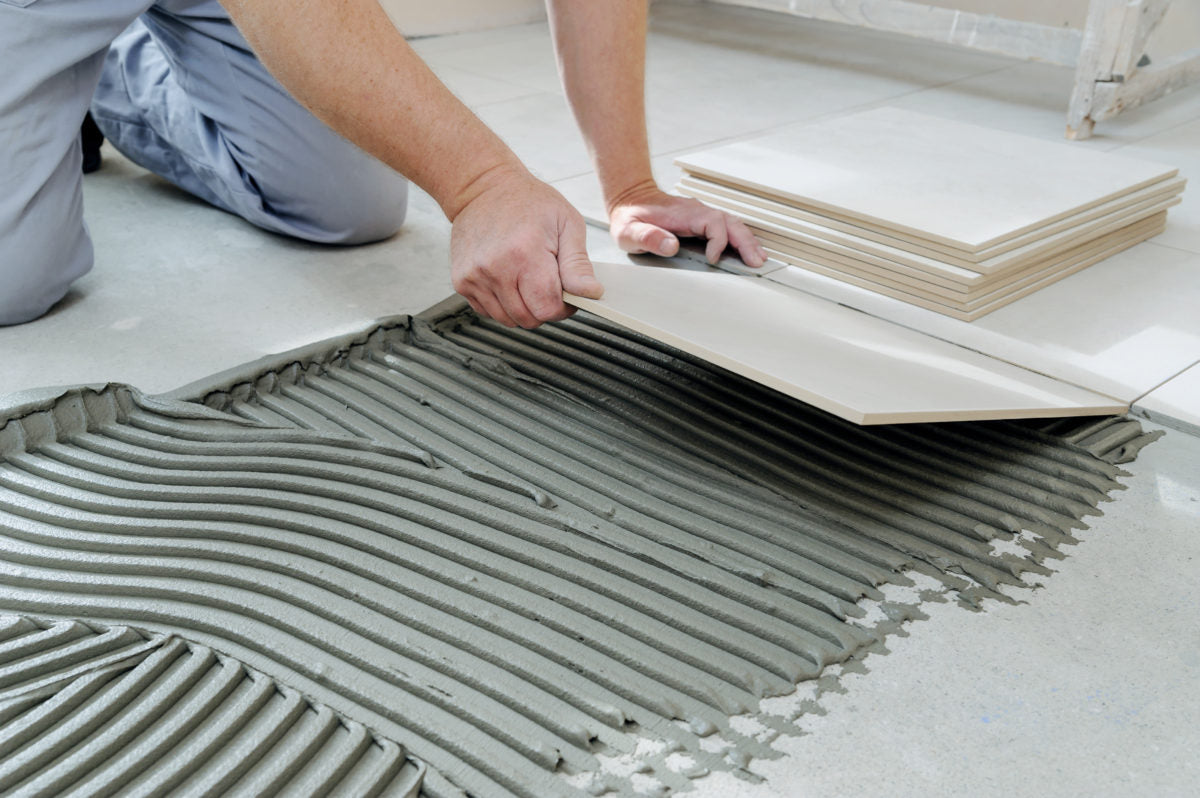Diy Guide How To Install Tile Flooring The Good Guys
