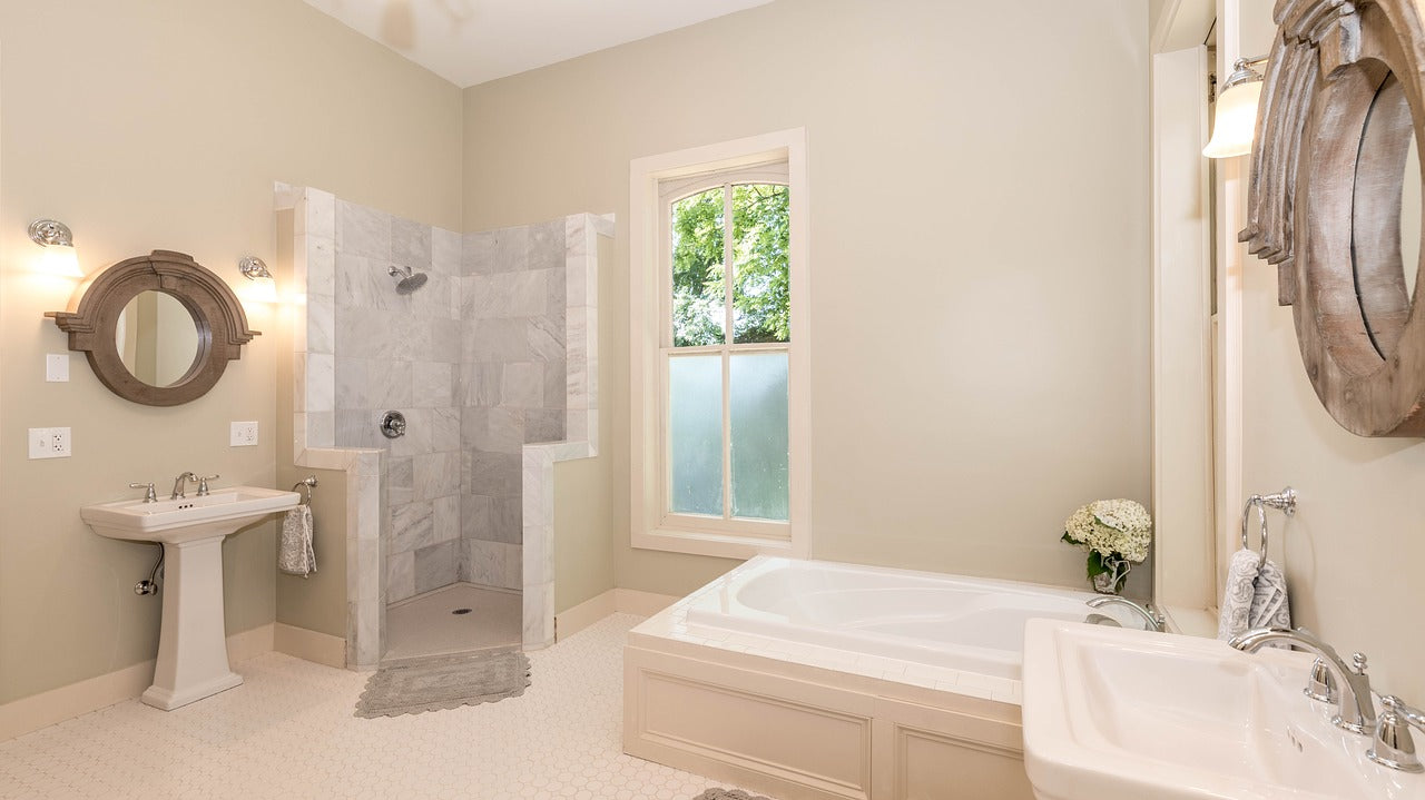 Tile is a great choice for bathroom tile