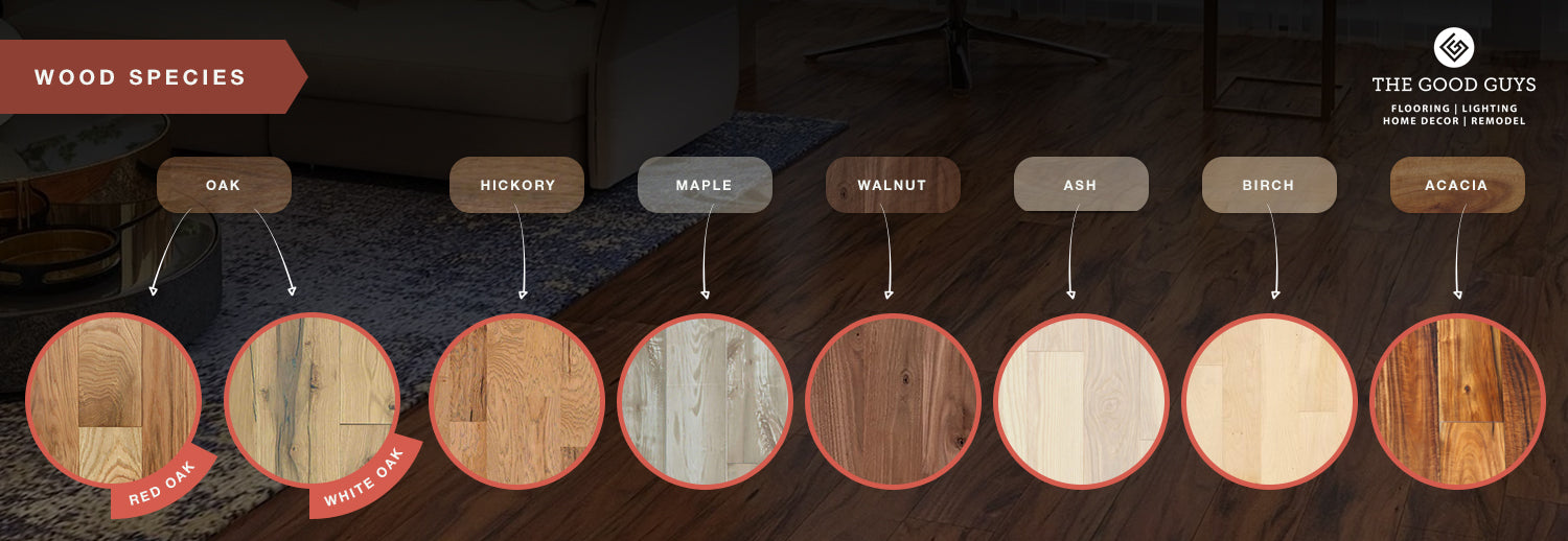 Common Wood Species for Flooring