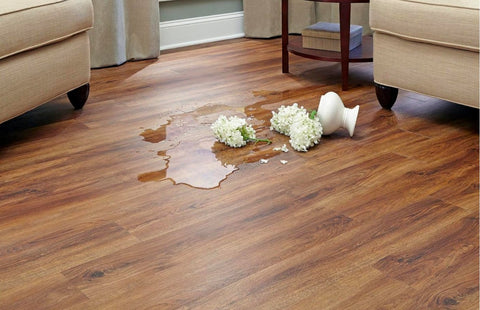 Spills on Hardwood Floors!