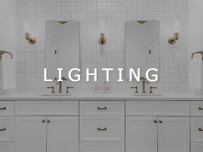 Browse our display of Lighting Options in our showroom