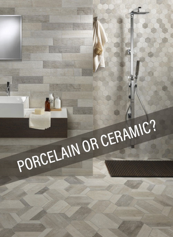 Porcelain vs Ceramic Tile