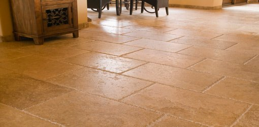 Grid or Brick Laid Tile is a Popular Choice for Large Format Floor Tiles