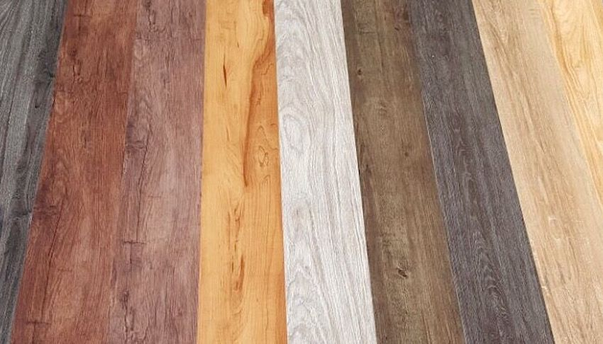 Wood Look Vinyl Flooring Comes in Many Shades