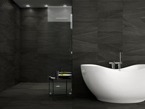Interceramic Tile - Montpellier - Nero - 7x24