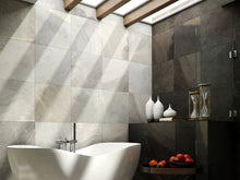 Interceramic Tile - Strata - Grafite - 12x24 - 3