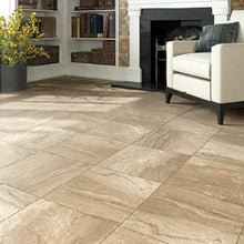 Interceramic Tile - Amalfi Stone - Crema Vasari - 16x16 - 4