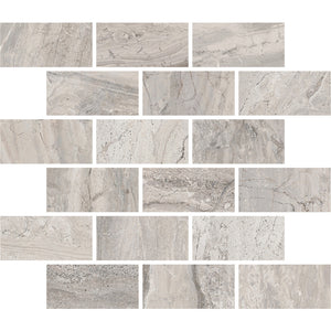 Interceramic Tile - Amalfi Stone - Bianco Scala - Bricklay Mosaic