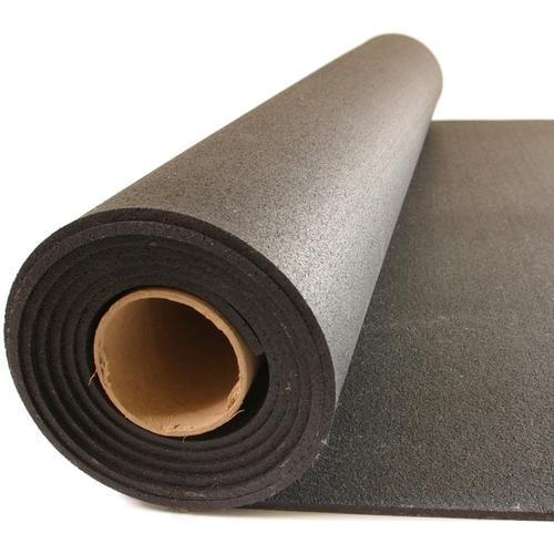 Rubber Sports Flooring - Black - Roll