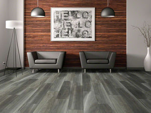 Shaw Vinyl - Cathedral Oak 720C Plus HD - Charred Oak - 9x59