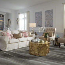 Shaw Vinyl - Cathedral Oak 720C Plus HD - Charred Oak - 9x59 - 4