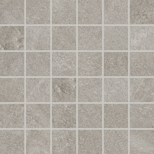 Interceramic Tile - Strata - Grigio - Stacked Mosaic