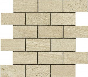Interceramic Tile - Montpellier - Beige - Bricklay Mosaic