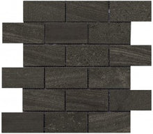 Interceramic Tile - Montpellier - Nero - Bricklay Mosaic - 2
