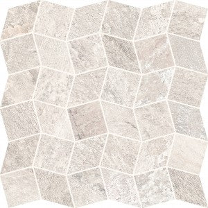 Quartzite - Ivory - Polygon Mosaic