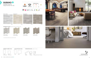 Interceramic Tile - Burano - Bianco Valetta - 16x16