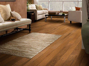 Shaw Engineered Wood - Pebble Hill Hickory - Burnt Barnboard - 5