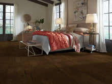 Shaw Engineered Wood - Pebble Hill Hickory - Weathered Saddle - 5 - 6