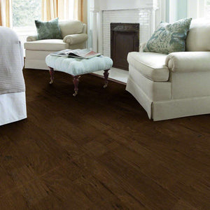 Shaw Engineered Wood - Pebble Hill Hickory - Weathered Saddle - 5