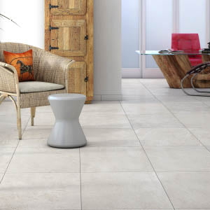 Interceramic Tile - Strata - Bianco - 13x13