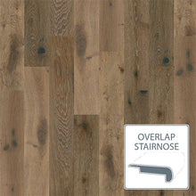 Load image into Gallery viewer, Castlewood White Oak - Baroque - Overlap Stairnose