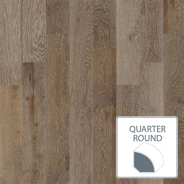 Castlewood White Oak - Drawbridge - Quarter Round