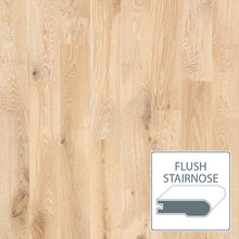 Load image into Gallery viewer, Castlewood White Oak - Tapestry - Flush Stairnose