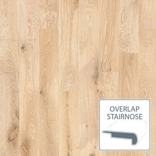 Load image into Gallery viewer, Castlewood White Oak - Tapestry - Overlap Stairnose