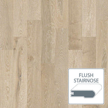 Load image into Gallery viewer, Castlewood White Oak - Tower - Flush Stairnose