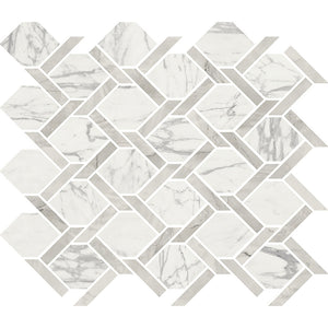 Interceramic Tile - Crescent - Cape Grace Spectator - Knot Mosaic