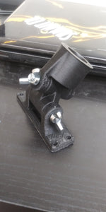Euro Threaded Swivel Brush Mount