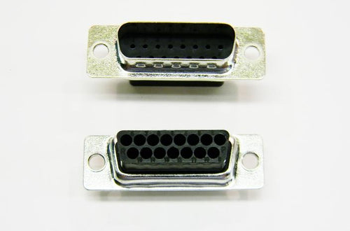 Datcom Realm DB15 male tinned crimp connector