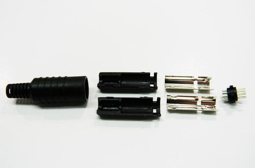 Datcom Realm 8 pin mini din male solder type connector