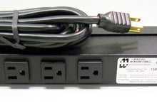 Load image into Gallery viewer, Hammond 1583H6B1BK 15A x 6 NEMA 5-15R PDU