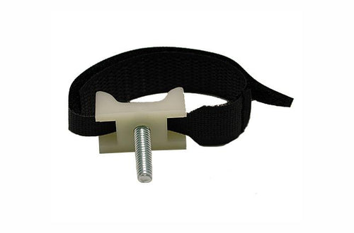 Polygon 1020-10 saddle polytie with 8 inch black Velcro